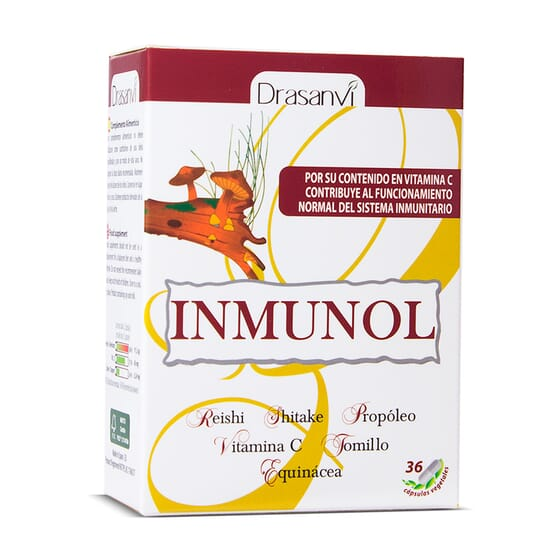 Inmunol 36 Vcaps de Drasavi