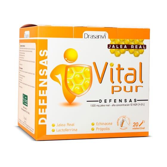 Vitalpur Defesas 20 x 15 ml da Drasanvi
