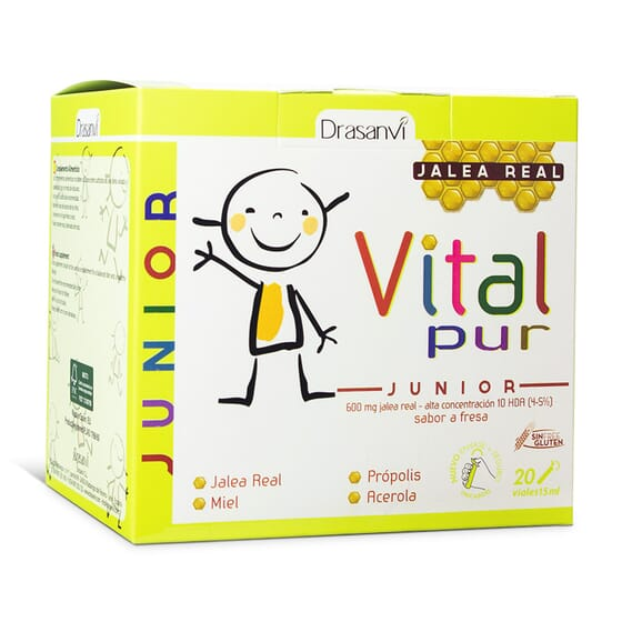 Vitalpur Junior 20 x 15ml de Drasanvi