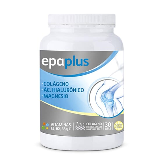 EPAPLUS COLLAGÈNE + ACIDE HYALURONIQUE + MAGNESIUM 325 g - EPAPLUS