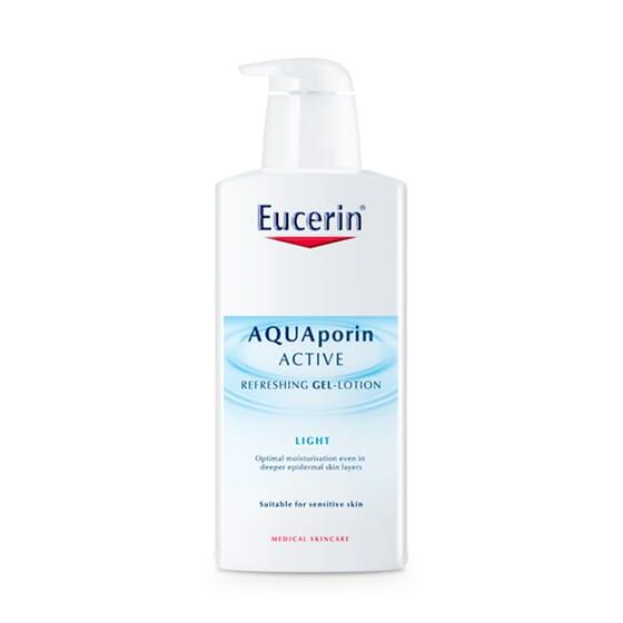 EUCERIN AQUAPORIN ACTIVE LOTION-GEL RAFRAÎCHISSANTE 400 ml - EUCERIN