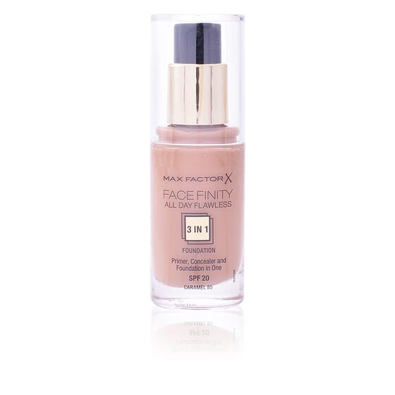 FACEFINITY ALL DAY FLAWLESS 3IN1 FOUNDATION #85 CARAMEL 30ML de Max Factor