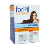 FORPIL COMPLEX 90 Gélules + SHAMPOOING ANTI-CHUTE 200 ml - FORPIL