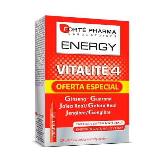 Energy Vitalite 4 - 20 x 10 ml da Forte Pharma