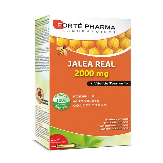 Geleia Real 2000Mg 20 x 15 ml da Forte Pharma