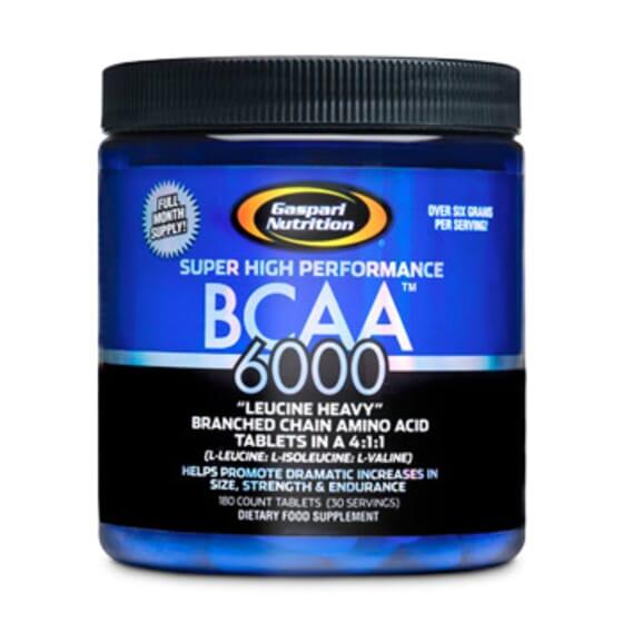 BCAA 6000 - 180 Tabs - GASPARI NUTRITION