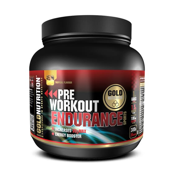 Pre Workout Endurance 300g da Gold Nutrition