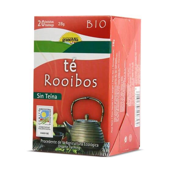 Infusão Chá Vermelho (Rooibos) Bio 20 Infusões da Granovita