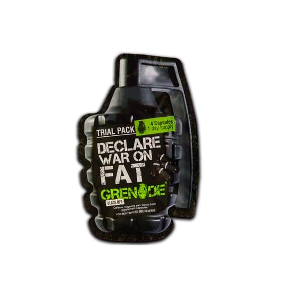 GRENADE BLACK OPS TRIAL PACK 4 Caps - GRENADE