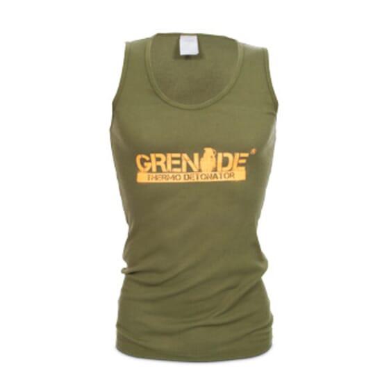 T-Shirt Sem Mangas Verde Grenade da Grenade