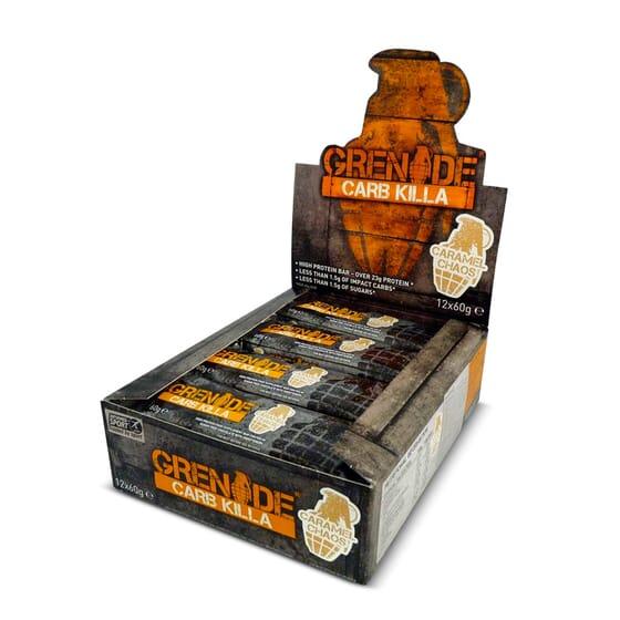 Grenade Carb Killa Bar 12 x 60g de Grenade