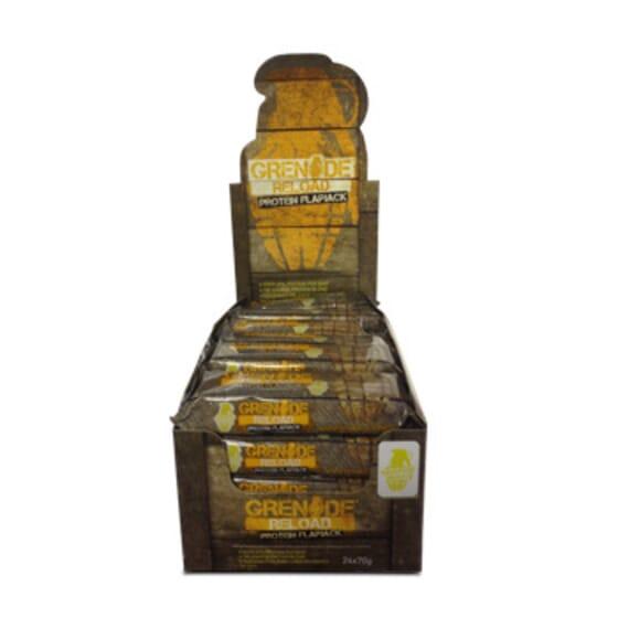 Grenade Reload Protein Flapjacks 12 x 70g da Grenade