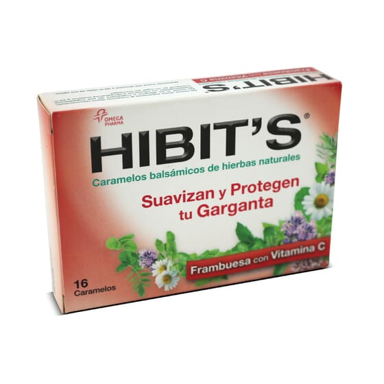 Hibit'S Framboesa Com Vitamina C 16 Pastilhas da Hibit's