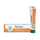 Creme de múltiplos usos da Himalaya Herbals suaviza e protege a pele irritada.