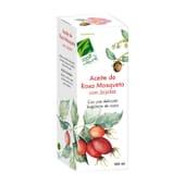Olio di Jojoba con Rosa Mosqueta 100 ml de Cien Por Cien Natural