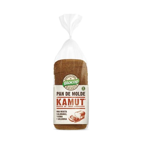PAN DE MOLDE BLANDO KAMUT 400g de Biocop