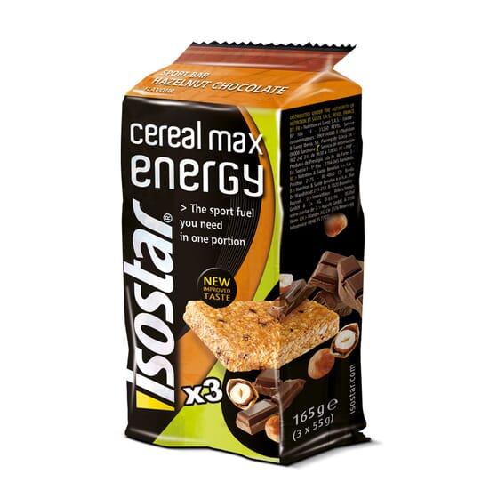CEREAL MAX ENERGY 3 x 55g - ISOSTAR
