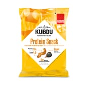 Kubdu Protein Snack Tiras de Frango com Alho Preto  25g de Kubdu