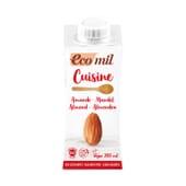 Crema De Almendra Sin Azúcar Para Cocinar Bio 200 ml de Ecomil