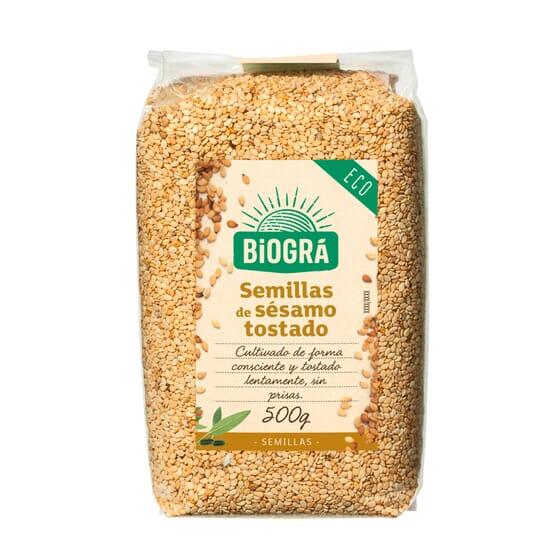 Sésamo Tostado Bio 500g de Biogra
