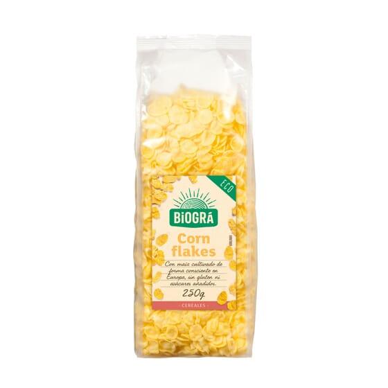 Corn Flakes Sem Açúcar Adicionado Bio 250g da Biogra