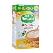 NESTUM 8 CEREAIS COM BOLACHA FORMATO POUPANÇA 1100g da Nestlé Nestum