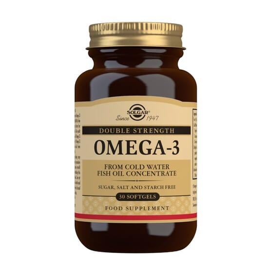 Omega 3 Doble Strength 30 Perlas de Solgar
