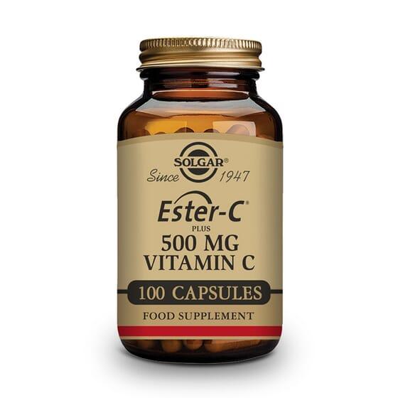 Ester-C Plus 500 mg Vitamina C 100 Caps de Solgar