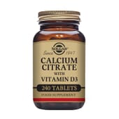 Calcium Citrate With Vitamin D3 240 Tabs de Solgar