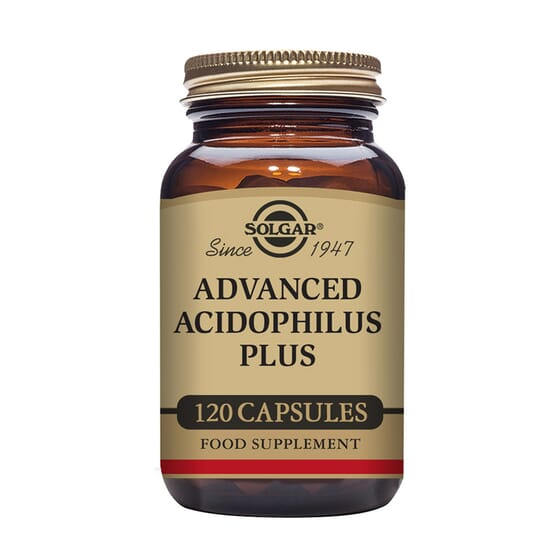 Advanced Acidophilus Plus 120 VCaps de Solgar
