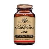 Calcium, Magnésium & Zinc 250 Tabs de Solgar