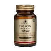 Folacin Acide Folique 400 mcg 100 Tabs de Solgar