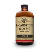 L-Carnitina Líquida 1500 mg 473 ml da Solgar