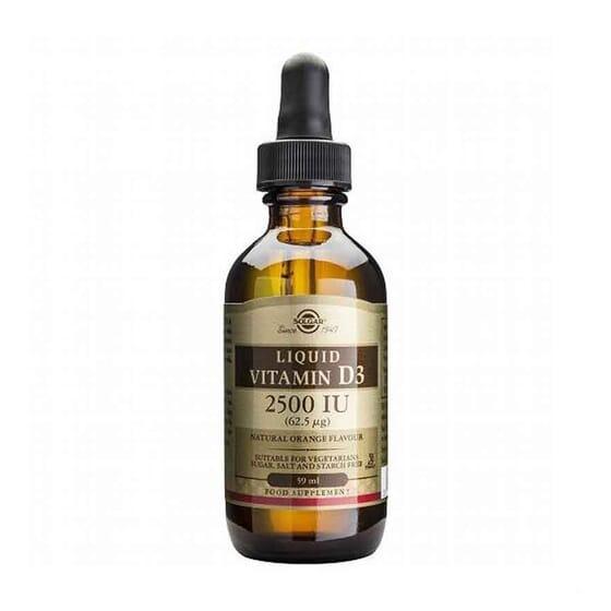 Liquid Vitamin D3 2500 iu 59 ml de Solgar
