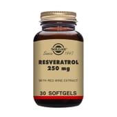 Resveratrol 250 mg 30 Perlas de Solgar