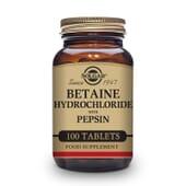 Betaína Clorhidrato Con Pepsina 100 Tabs de Solgar