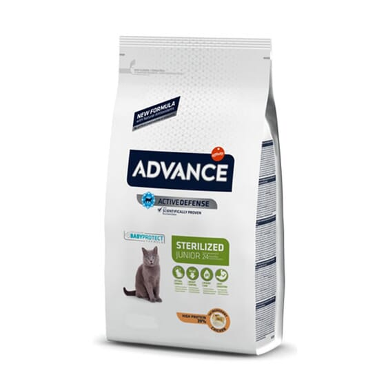 Comida Para Gatos Young Sterilized 400g de Advance