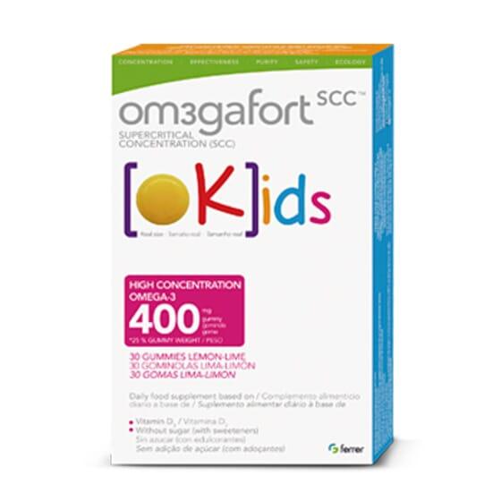 Kids 30 Gominolas da Om3gafort