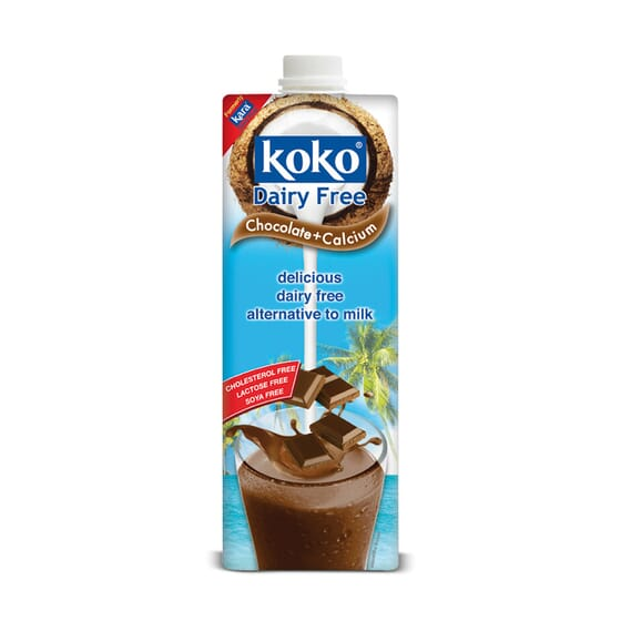 Leite De Coco Chocolate + Cálcio 1 Litro da Koko