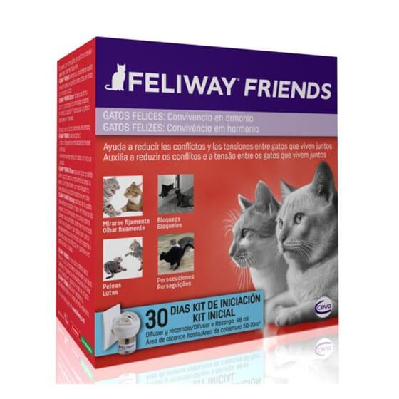 Feliway Friends Difusor E Recarga 48 ml da Ceva