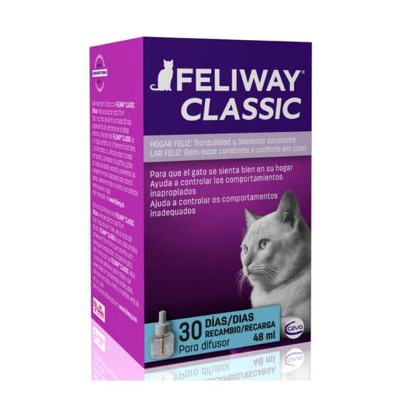 Feliway Classic Recambio 30 Días 48 ml de Ceva
