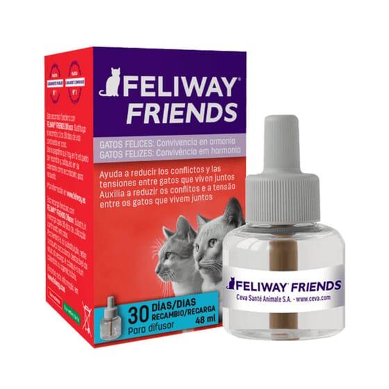 Feliway Friends Difusor Recambio 48 ml de Ceva