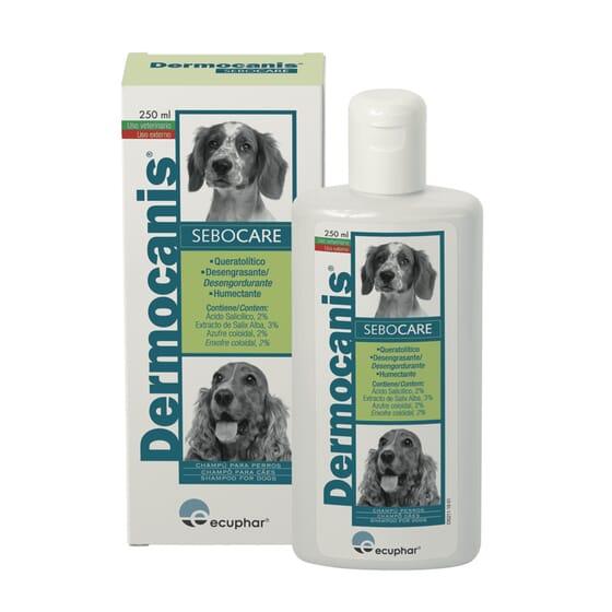 Dermocanis Sebocare Champú Desengrasante Para Perros 250 ml de Ecuphar