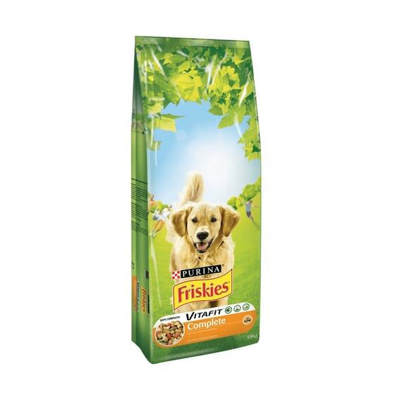 Complete Cão Adulto Frango e Verduras 18 Kg da Friskies
