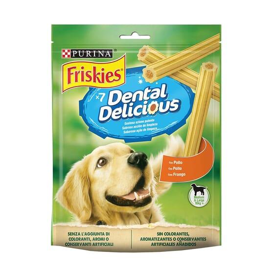 Dental Delicious Pollo Para Perros Medianos y Grandes 200g de Friskies