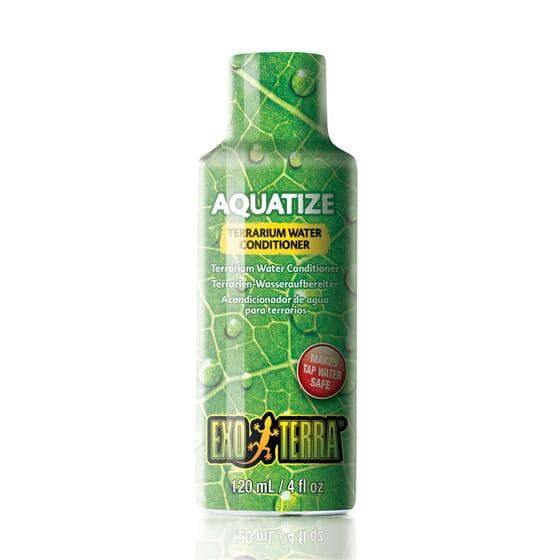 AquatizeCondicionador De Água Para Terrários 120 ml da Exo Terra