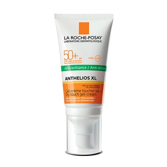 ANTHELIOS XL SPF 50+ GEL-CRÈME TOUCHER SEC ANTI-BRILLANCE SANS PARFUM 50 ml - LA ROCHE POSAY