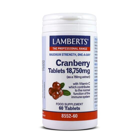 CRANBERRY 18750 mg 60 Tabs - LAMBERTS