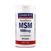 MSM 1000mg 120 Tabs de Lamberts