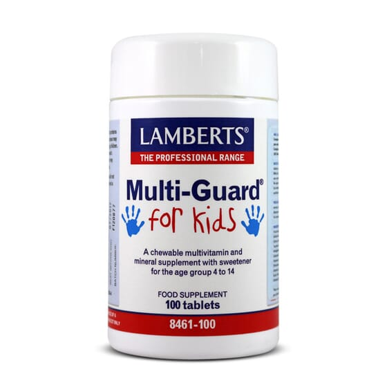 Multiguard For Kids 100 Tabs de Lamberts